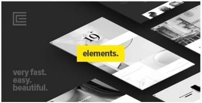 قالب وردپرس Elements