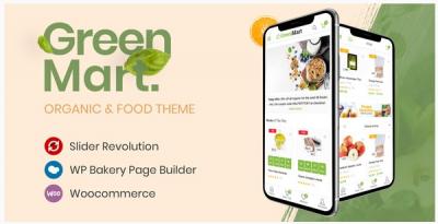 قالب وردپرس Greenmart 2