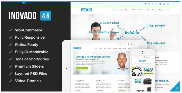 قالب وردپرس Inovado 1