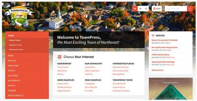 قالب وردپرس Townpress 2