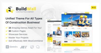 قالب وردپرس BuildWall 2