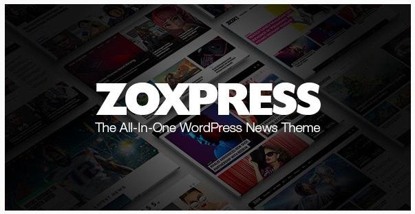 قالب وردپرس Zoxpress 1