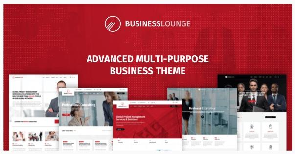 قالب وردپرس Business lounge 1