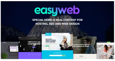 قالب وردپرس EasyWeb 2