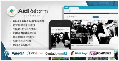 قالب وردپرس Aidreform 2