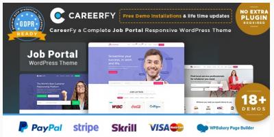قالب وردپرس Careerfy 2