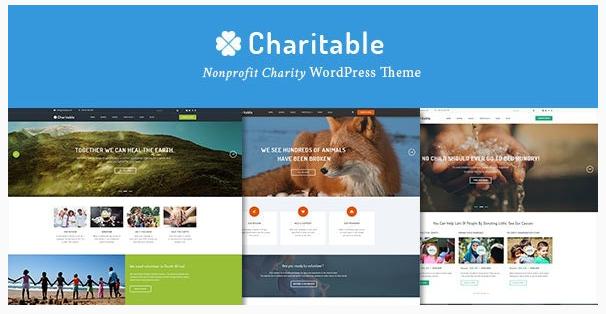 قالب وردپرس Charitable 1