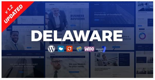 قالب وردپرس Delaware 1