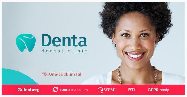 قالب وردپرس Denta 1