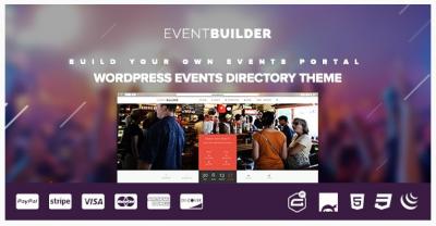 قالب وردپرس Event Builder 2