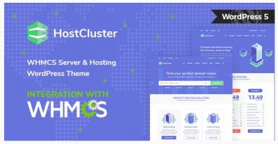 قالب وردپرس Hostcluster 2