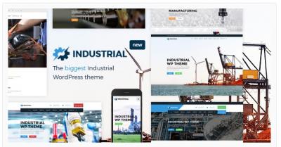 قالب وردپرس Industrial 2