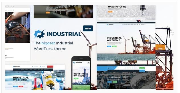 قالب وردپرس Industrial 1