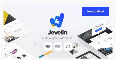 قالب وردپرس Jevelin