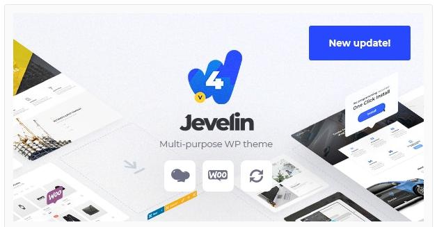 قالب وردپرس Jevelin 1