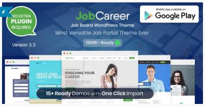 قالب وردپرس Jobcareer 2