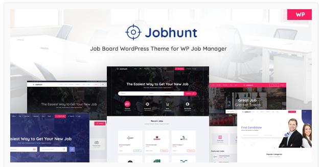 قالب وردپرس Jobhunt 1