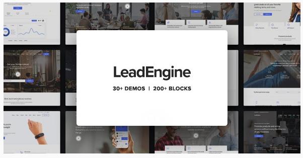 قالب وردپرس Leadengine 1