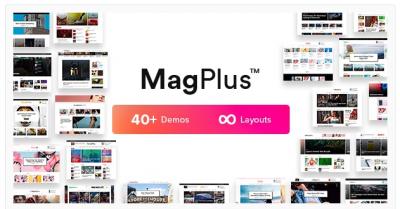 قالب وردپرس Magplus 2