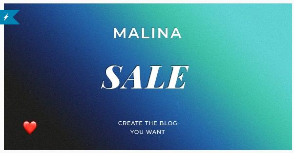 قالب وردپرس Malina 1