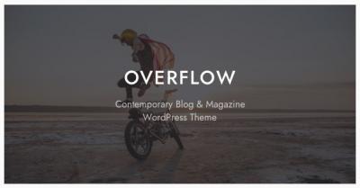 قالب وردپرس Overflow 2