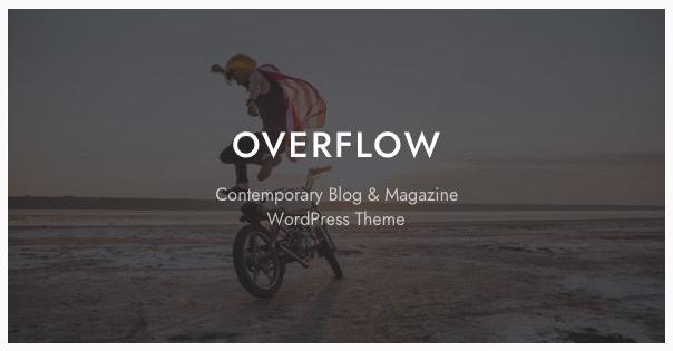 قالب وردپرس Overflow 1