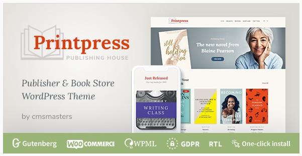 قالب وردپرس Printpress 1
