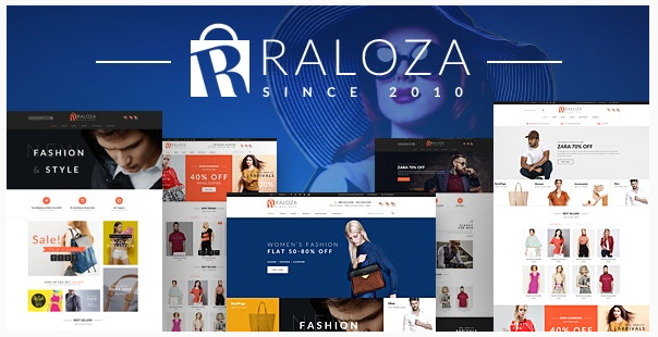 قالب وردپرس Raloza 1