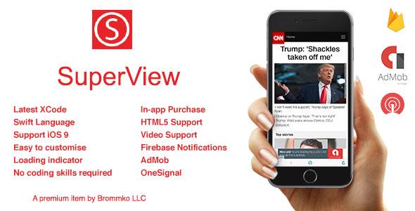 سورس اپليكيشن وب ويو Super View 4