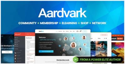 قالب وردپرس Aardvark 2