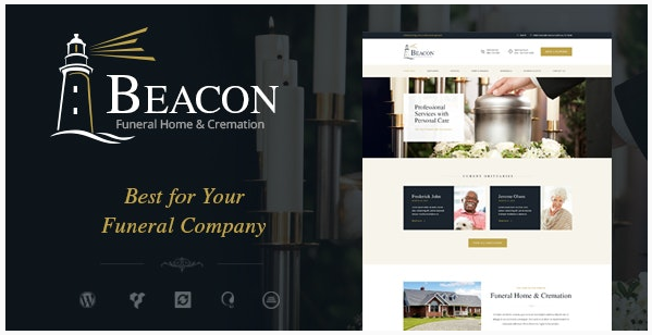 قالب وردپرس Beacon 1