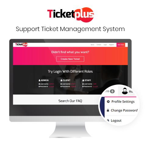 اسكريپت مديريت پشتيباني Ticketplus 3