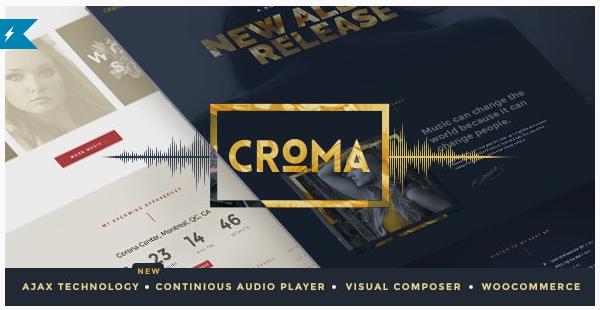 قالب وردپرس Croma 1