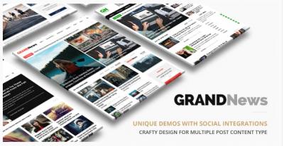 قالب وردپرس Grandnews 2