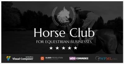 قالب وردپرس Horse Club 2