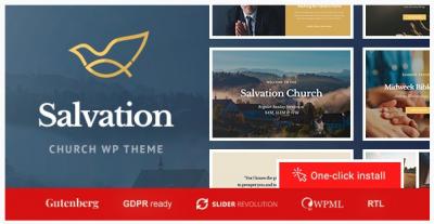 قالب وردپرس Salvation 2