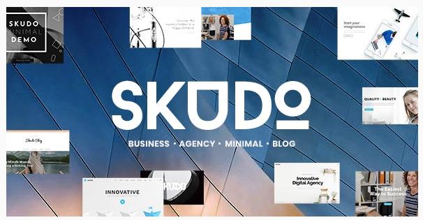 قالب وردپرس Skudo 1