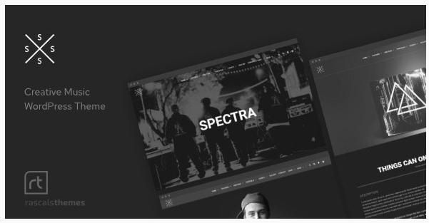 قالب وردپرس Spectra 1