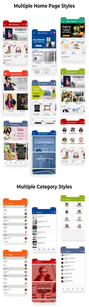 سورس اپليكيشن فروشگاهي Android & IOS (Lonic) 9