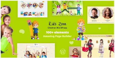 قالب وردپرس Kids Zone 2