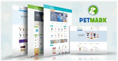 قالب وردپرس Petmark 2