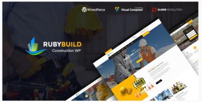 قالب وردپرس Ruby Build 2