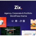 قالب وردپرس Zix